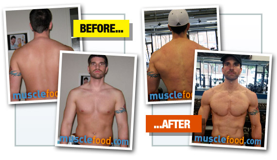 Zach Trowbridge - Before & After