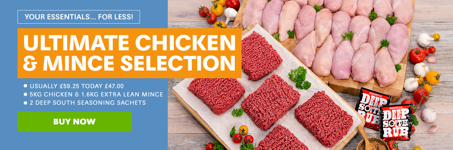 Ultimate Chicken & Mince Selection