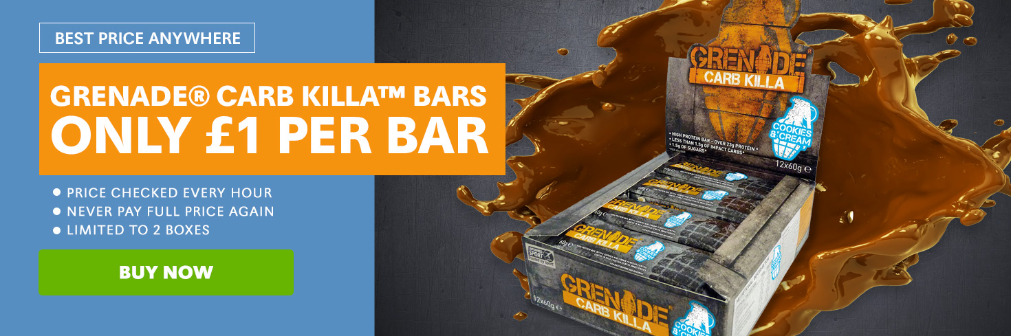Grenade® Carb Killa™ Bars - £1 Per Bar