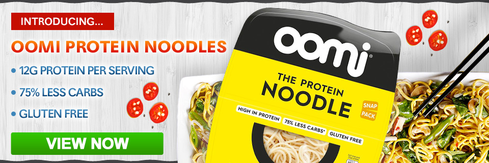 Introducing oomi protein noodles=