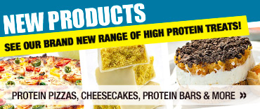 New Products - See Our Brand New Range Of High Protein Treats