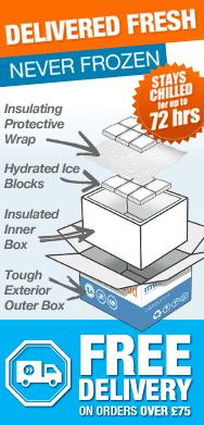 Delivered Fresh - Never Frozen