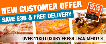 New Customer Offer - Save £38 & Free Delivery