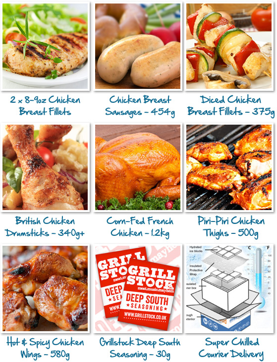 Ultimate Chicken Selection Box