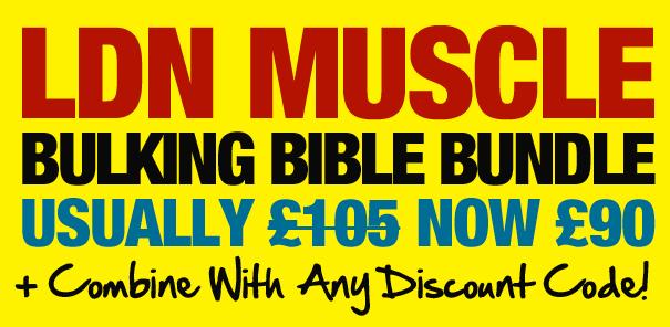 LDN Muscle Bulking Bible Bundle