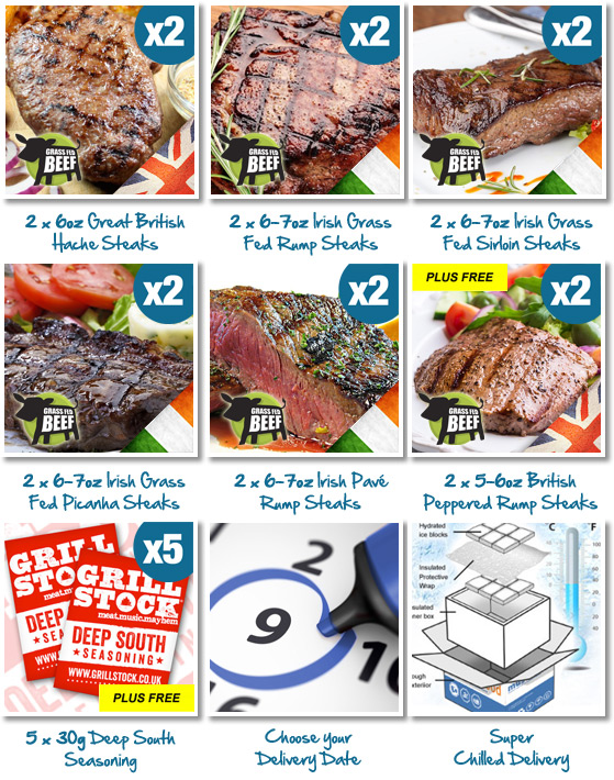 Irish Grass Fed Luxury Fillet Steaks