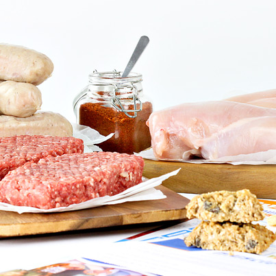 X4L Meat Hamper