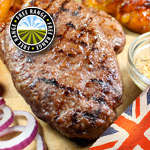 British Hache Steaks