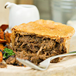 High Protein Pulled Beef Pie-220g