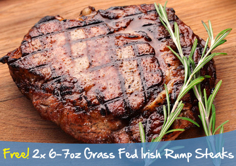 Grass Fed Rump Steaks