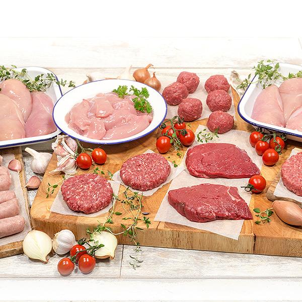 40 Piece Lean Meat Hamper