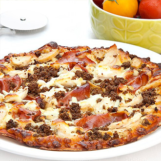 Mighty Meat Protein Pizza