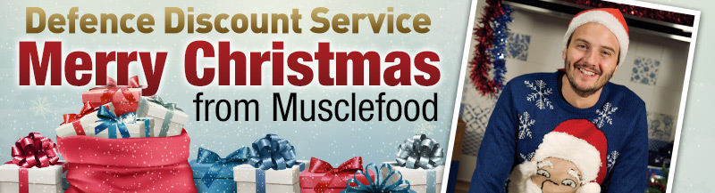Merry Christmas from Musclefood