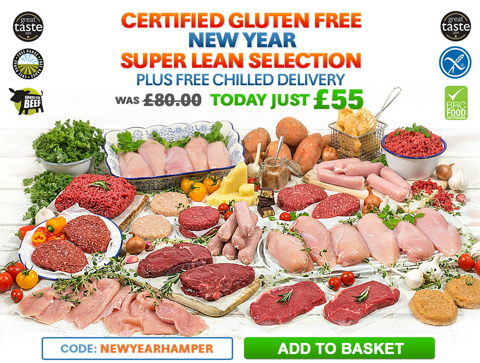 Certified Gluten Free New Year Hamper
