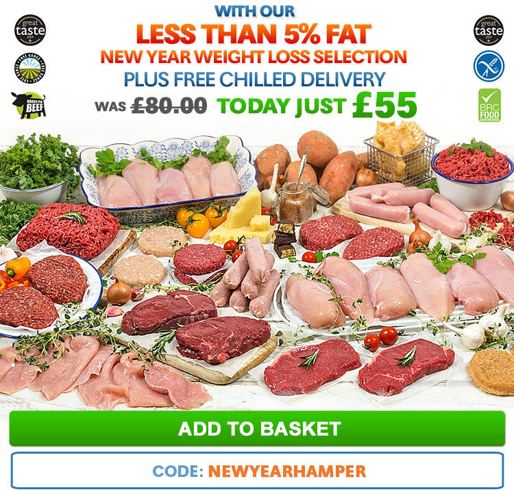 With Our Less Than 5% Fat New Year Weight Loss Selection