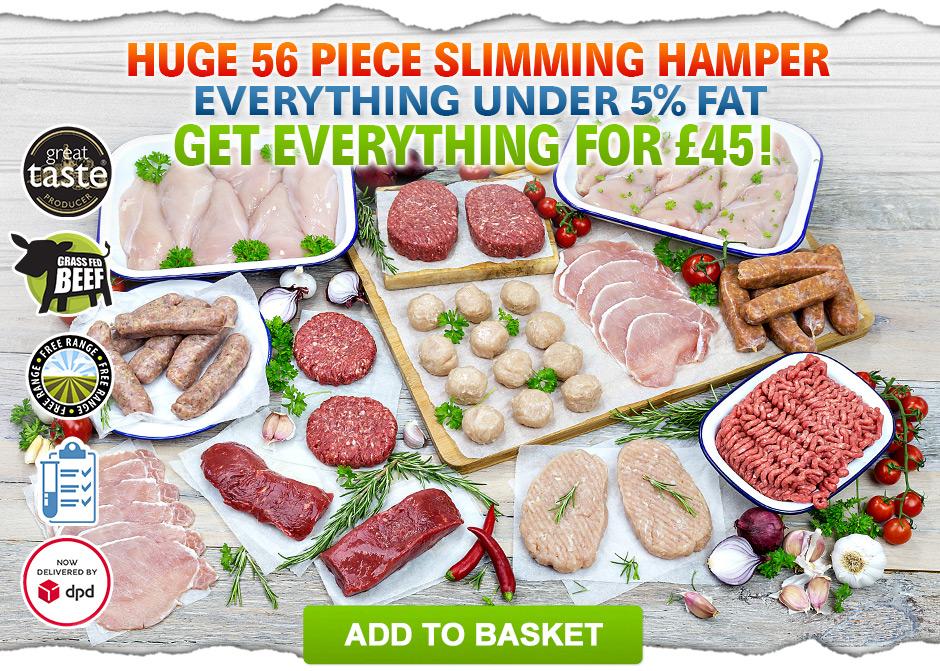 Slimming Hamper 56 Piece