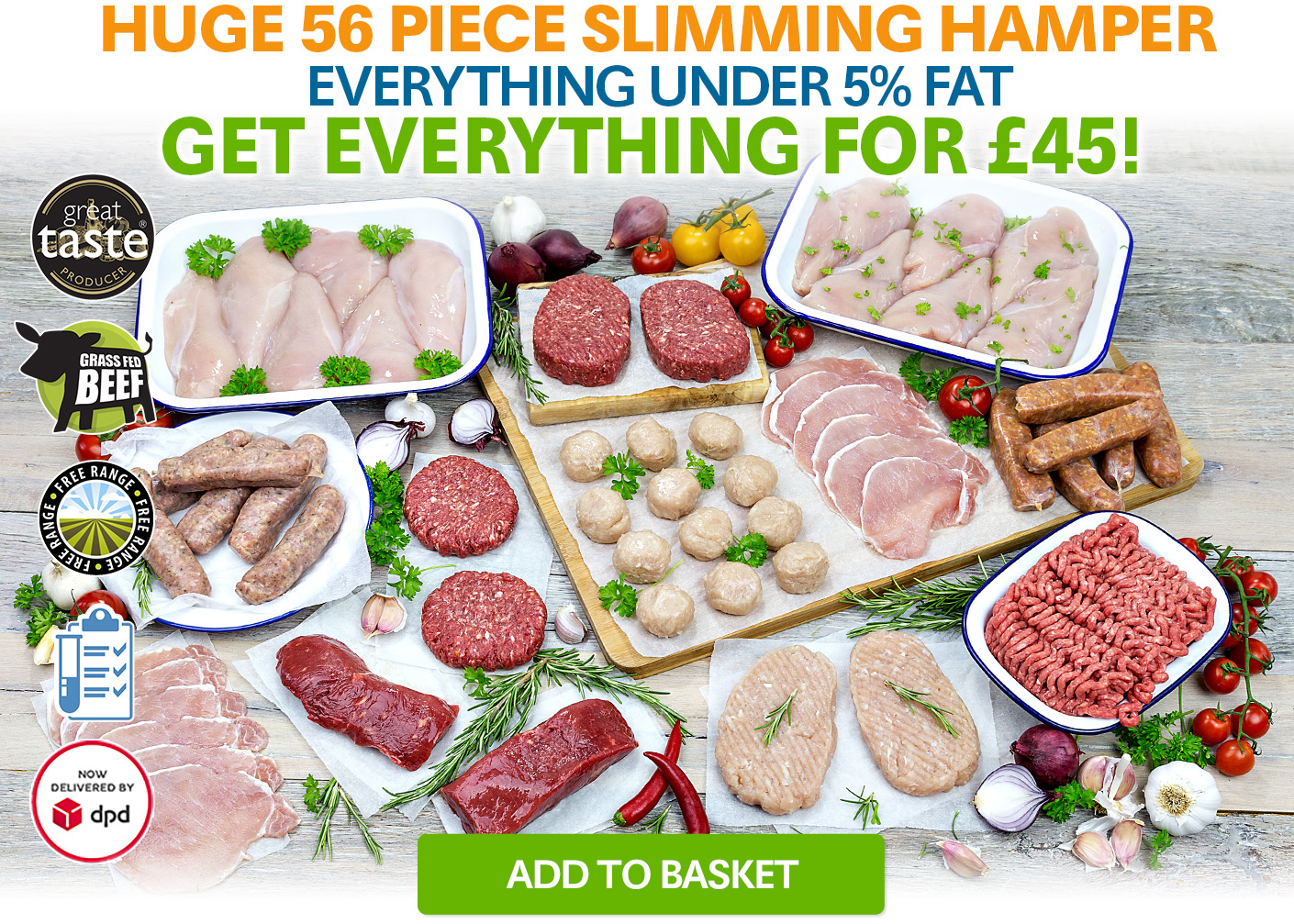 Slimming Hamper 56 Piece