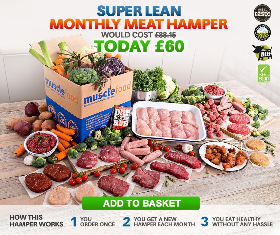 Super Lean Monthly Meat Hamper