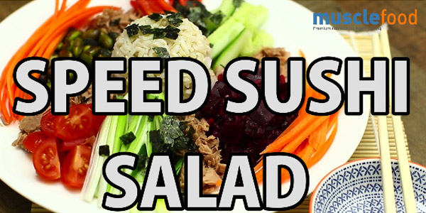 Healthy Speed Sushi Salad