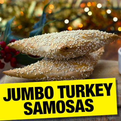Jumbo Turkey Samosas