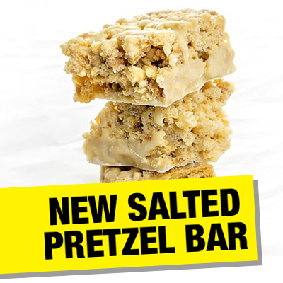 Salted Pretzel Bar