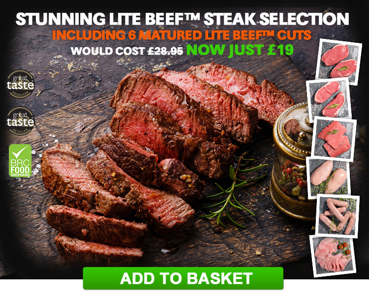 Lite Beef Taster Selection