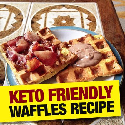 Keto Friendly Waffles Recipe