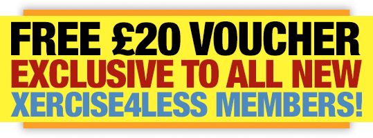 Free Exlusive £20 Voucher for All New Xercise4Less Members!