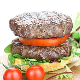 4 x 4oz Extra Lean Steak Burgers