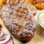 2 x 6-7 oz Free Range Hache Steaks