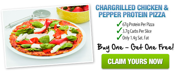 Chargrilled Chicken & Pepper Proetin Pizza