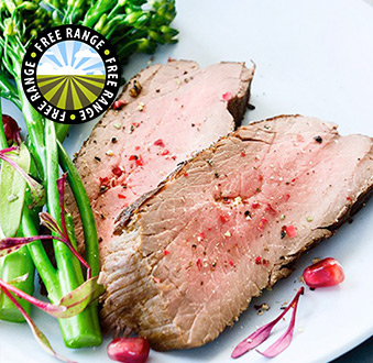 2 x 7oz Ostrich Fan Fillet Steaks - do Not Use