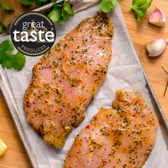 2x 141g Chimichurri Chicken Steaks -2 x 141g****DELISTED****