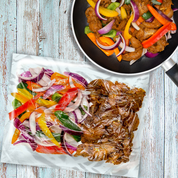 Chicken Fajita Bag Meal