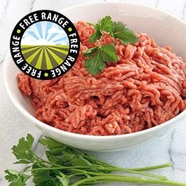 Extra Lean Free Range Steak Mince - 3 x 400g