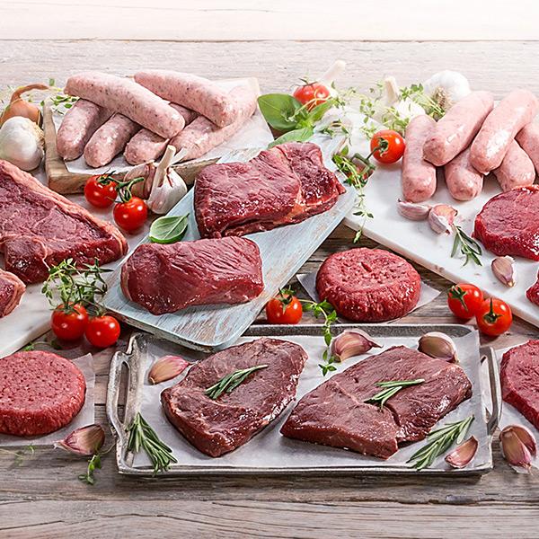30 Piece BBQ Meat Hamper