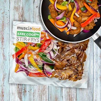1 x Chicken Fajita Stir Fry - (1 Person)
