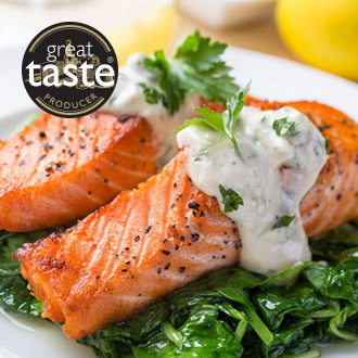 10 x Fresh Salmon Fillets -10 x 113g