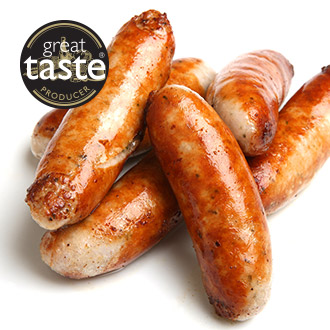 6 x 75g Premium Meaty Pork Sausages