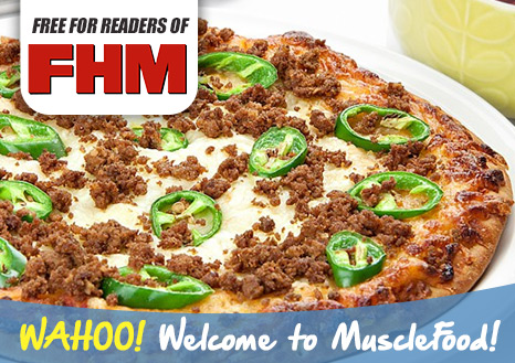 Free 10 inch Spicy Beef Pizza