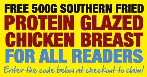 FREE 500g Southern Fried Chicken Breast