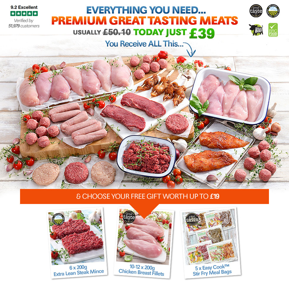 Premium Great Tasting Meats