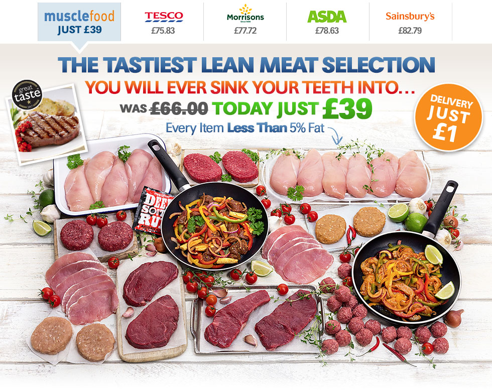 The Tastiest Leanest Meat Selection