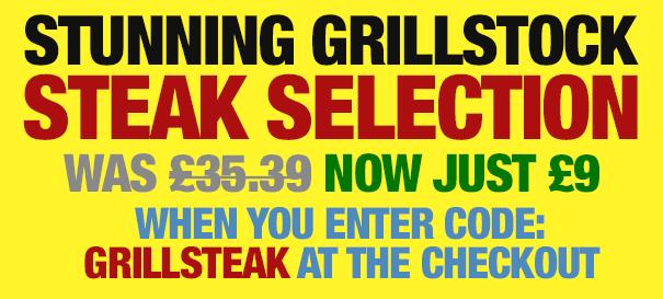 Stunning Grillstock Steak Selection
