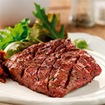 10 x 6-7oz 21 Day Matured Flat Iron Steaks-10 x 6-7oz