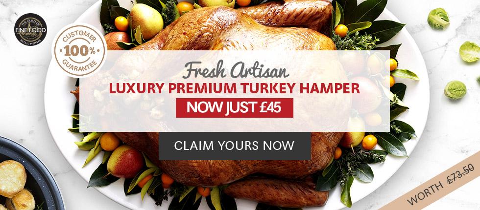 Traditionally Reared Luxury Premium Turkey Hamper