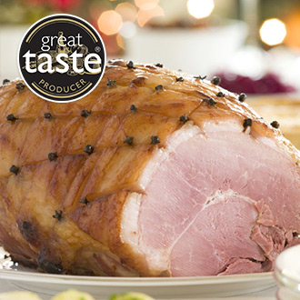 Easy Carve Unsmoked Gammon Joint - 2kg
