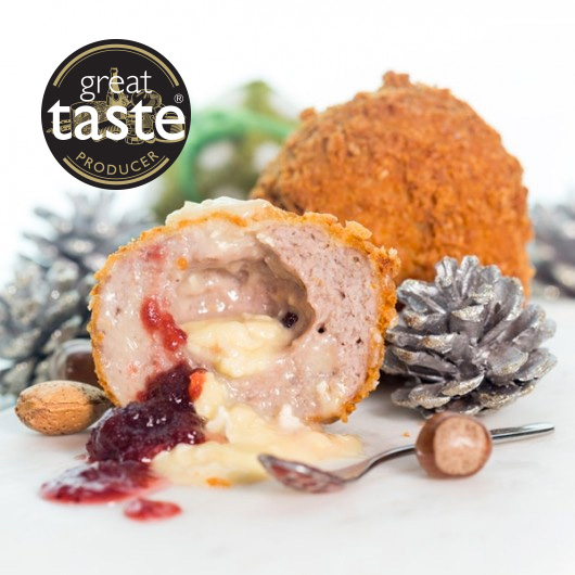 Giant Cranberry and Camembert Scotch Eggs-1 x Pack