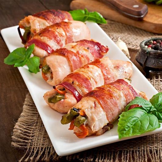 Sage, Onion & Bacon Stuffed Turkey Parcels-200g