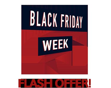 Black Friday flash Offer